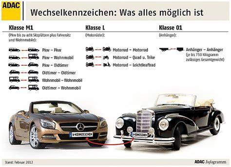 Motorrad Oldtimer Versicherung Kosten by Wechselkennzeichen Ab Dem 1 Juli 2012 Automobil