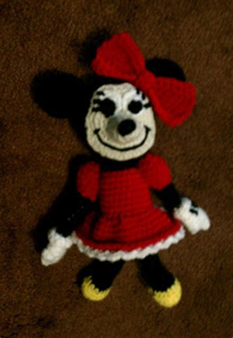 minnie mouse doll knitting pattern just stitched free pattern minnie mouse