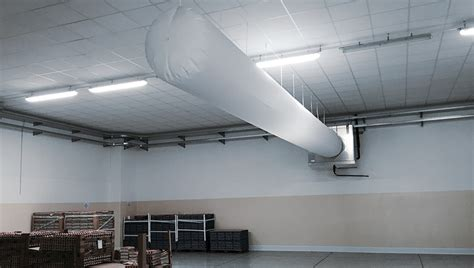 Air Socks fabric ducting fabric duct systems fabric ductwork
