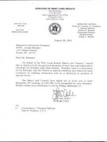 Thank You Letter To Award Committee Massaro Construction Inc