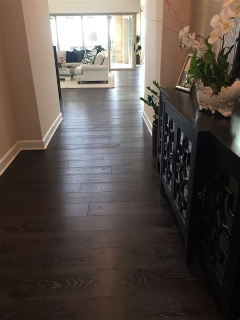What direction to lay wood look plank tile