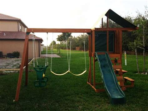 springfield swing set big backyard springfield playset
