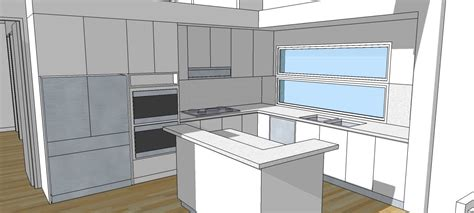 kitchen design sketchup a11 interior design and kitchens a trebld and sketchup