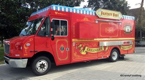 disney truck chicken and waffles at fare food truck in