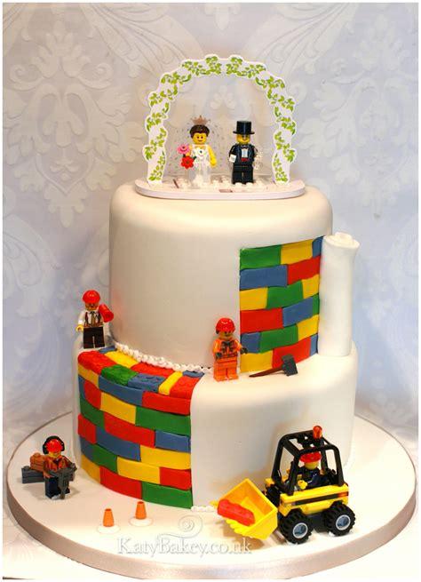 Hochzeitstorte Lego by Lego Wedding Cake Katybakey