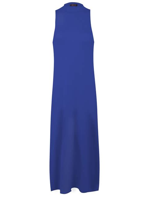 Tunik Blouse Dress Midi Maxi Bluss Atasan Baju Muslim Longdress high split side top midi jersey slit tunic maxi sleeveless vest ebay