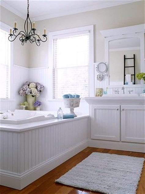 beadboard around bathtub wdws design trends beadboard bath pinterest
