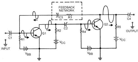transistor lifier feedback figure 1 19 positive feedback in two stages of transistor lification