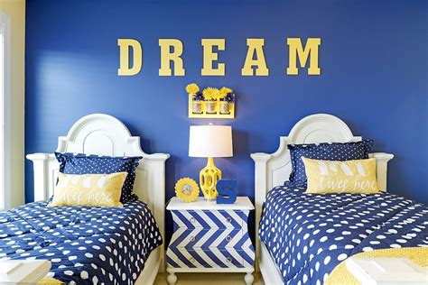 blue bedrooms for kids 25 kids bedrooms showcasing stylish chevron pattern