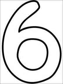 Number 6 coloring page getcoloringpages com