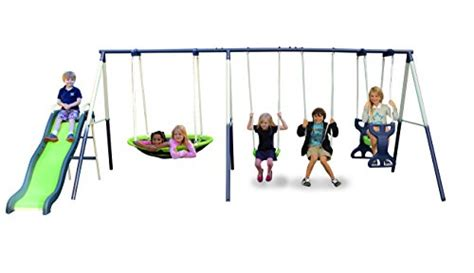 sportspower swing set parts sportspower rosemead metal swing set toys games outdoor