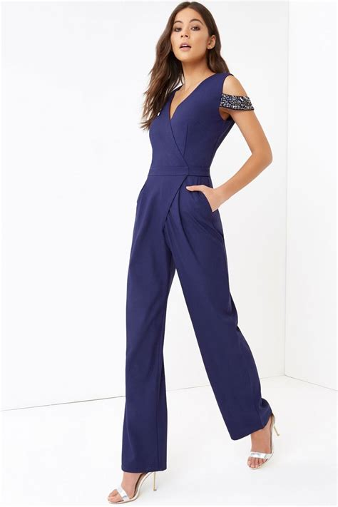 Jumpsuit Navy navy jumpsuit from uk