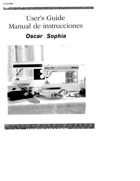 servicerepair manuals ownersusers manuals schematics husqvarna viking oscar and sophia user owners manual ebay