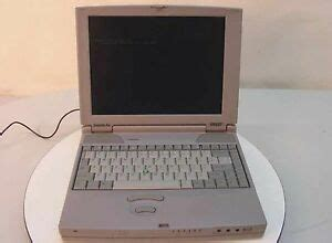 commercial vintage toshiba satellite laptop notebook win