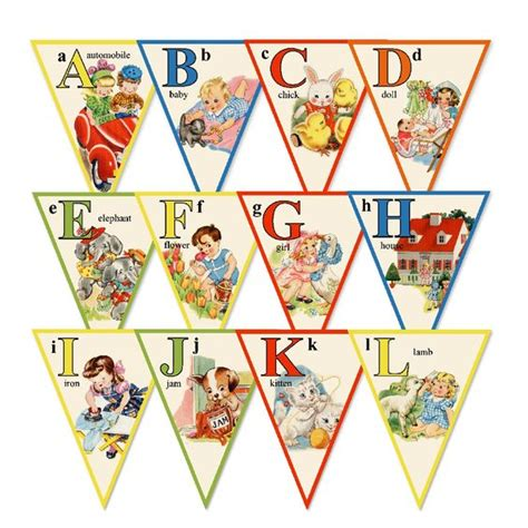 printable alphabet banner for classroom classroom banners and alphabet on pinterest