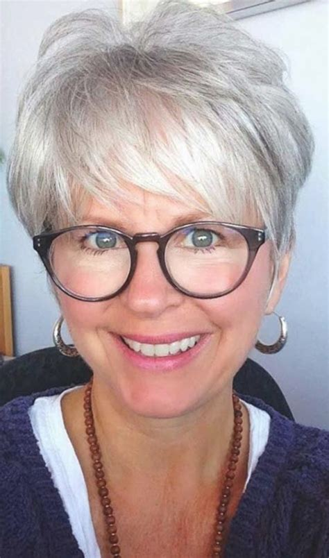 hair style 60 square face top short hairstyles for women over 60 with glasses square