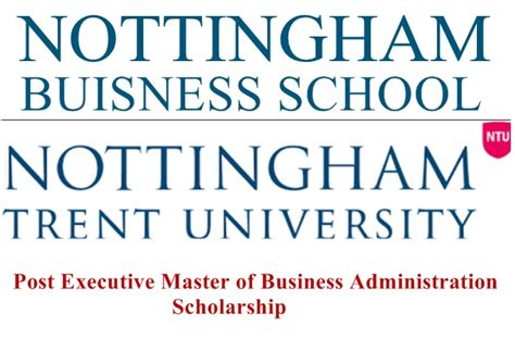 Nottingham Trent Mba by Commonwealth Scholarship And Fellowship 2016
