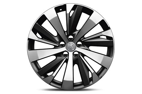 peugeot car wheels genuine peugeot 3008 set of 4 york 19 quot alloy wheels