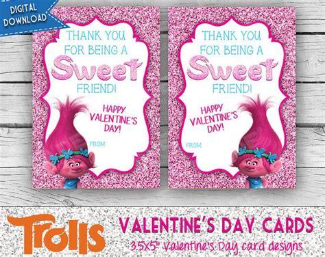 digital valentines cards digital trolls s day cards poppy