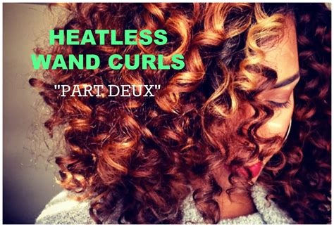 heatless curls for short hair natural hair heatless wand curls youtube