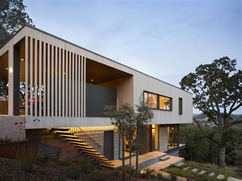 hillside houses hillside house in san anselmo california by shands studio