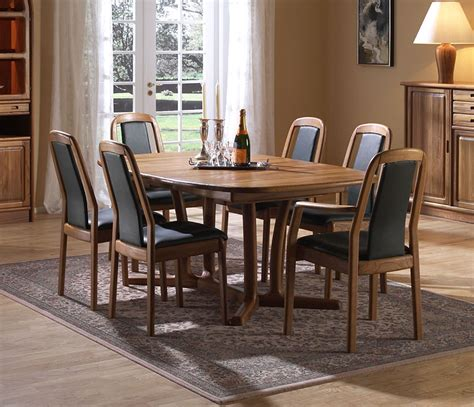 nice dining room tables fine dining room tables solid wood wharfside danish