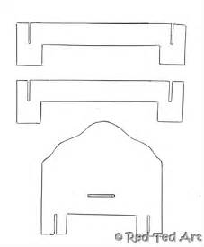 Doll House Template by Best Photos Of Paper Dollhouse Furniture Templates Free