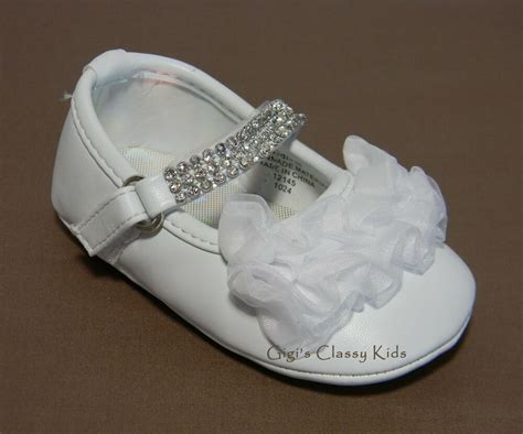 Baby Dress Baby Shoes new baby white dress shoes baptism easter dedication