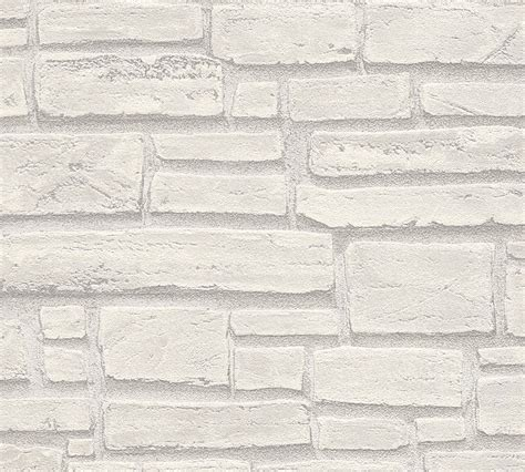 fliese steinoptik grau vlies tapete steinoptik naturstein grau wei 223 as creation