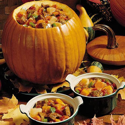 pumpkin foods pumpkin stew recipe taste of home