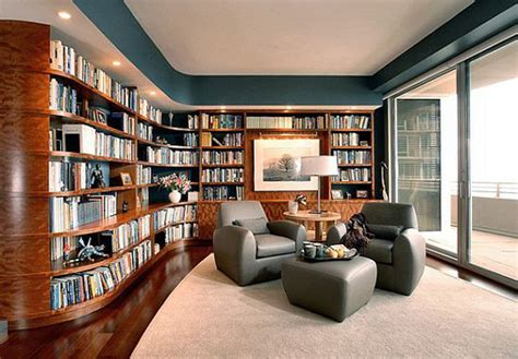 modern home library design ideas contemporary home modern home library decor