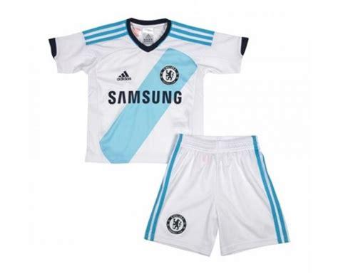 Shorts Chelsea Away 2012 chelsea fc adidas white away childrens football shirt shorts kit 2012 13 w38471
