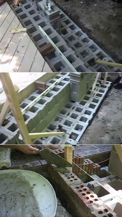 Foundation For Outdoor Fireplace by How To Build An Outdoor Fireplace Homesteading Diy Skills