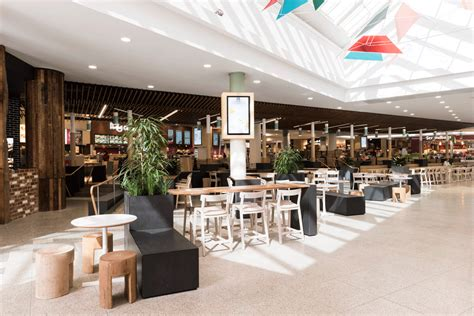 food court seating design bayside food court techne 2015
