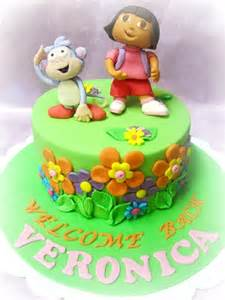 mom daughter cakes dora boots birthday cake