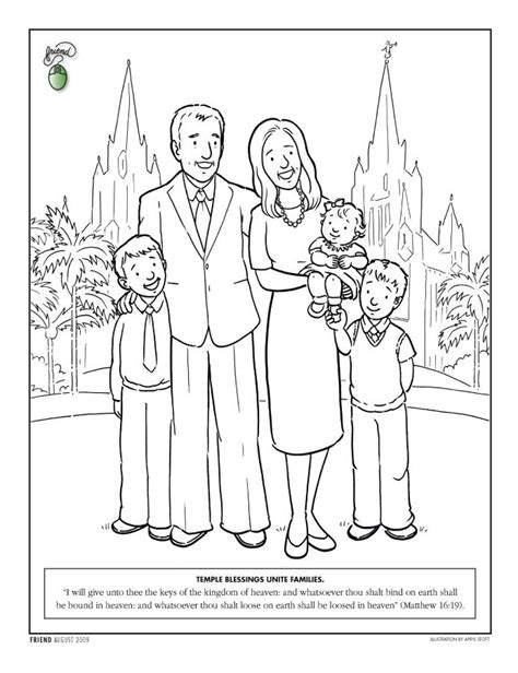 lds coloring pages family prayer lds coloring pages temple coloring page lds lesson