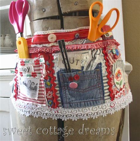 sewing craft apron this is kind of my apron tool belt or cleaning belt idea