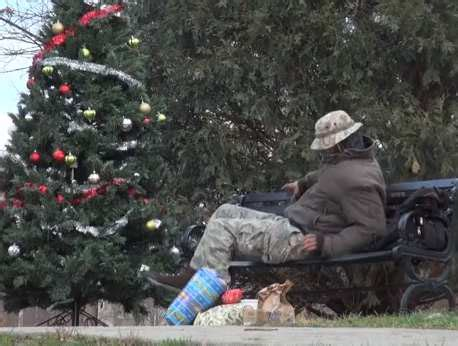 this prank is a blessing for homeless guys on christmas