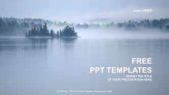 Free Beautiful Powerpoint Templates by Beautiful Lake View Nature Ppt Templates