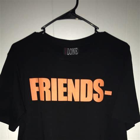 T Shirt Vlone 29 vlone other vlone friends tshirt black with