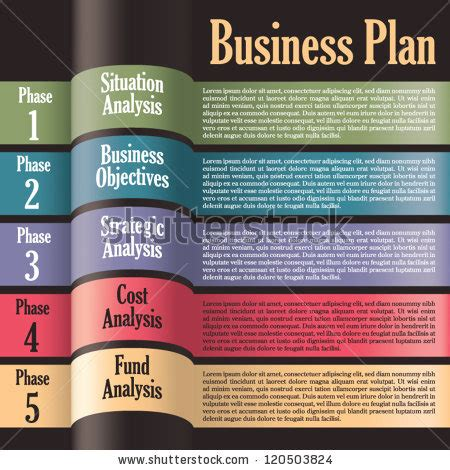 business plan layout template stock images similar to id 41174068 vector web