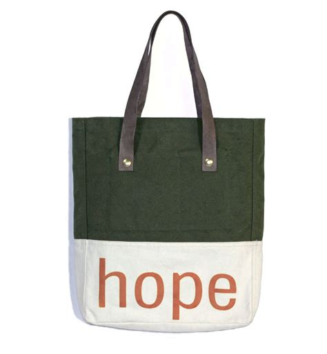 Hopes Handbags by A Simple Tote Bag With A Powerful Mission Of From
