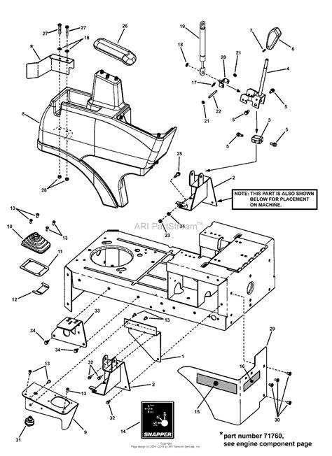 snapper yzbve    hp ztr scrambler series  parts diagram  joystick