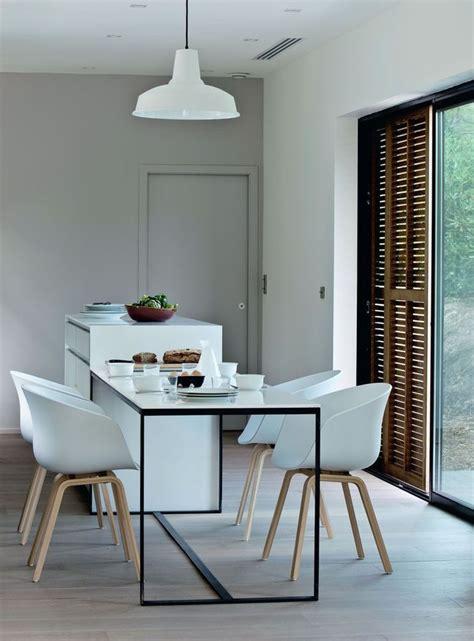 Table Salle A Manger Blanche 291 by Une Salle 224 Manger 233 Pur 233 E Et Contemporaine Space Design