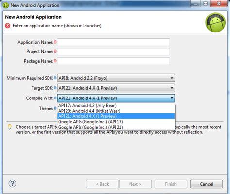 tutorial android eclipse juno how to create android apps in eclipse juno howsto co