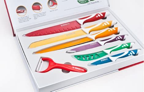 Other Cutlery & Knives   Swiss Royalty line 7 Piece Colour