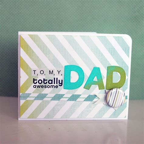 Handmade Fathers Day Card - handmade fathers day card inspiration paper
