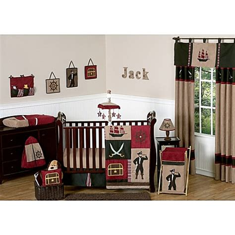 Pirate Toddler Bedding Set From The Treasure Quest Range At Children S Rooms Baby Sweet Jojo Designs Pirate Treasure Cove Crib Bedding Collection Buybuy Baby
