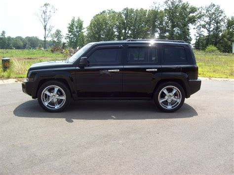 jeep patriot chrome rims patriotondubs 2007 jeep patriot specs photos