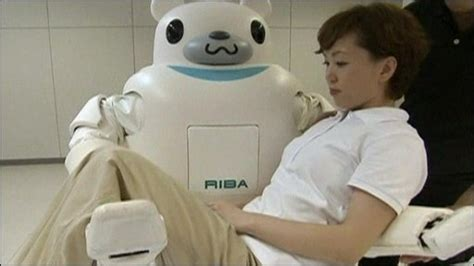 Meet Robonurse by Cbbc Newsround World Teddy Shaped Robot Unveiled